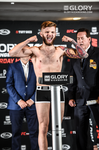GLORY 52 Weigh-ins sugden vs zougarry1